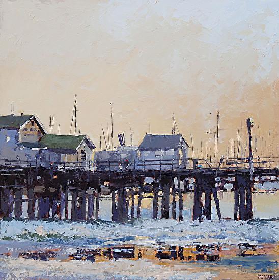 Stearns Wharf - Oil