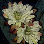 Anna Lisa Leal - Pastels - Mini Workshop - Cereus & Other Night Bloomers