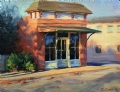Harrisburg Shop #2 by Dennis Dame Oil ~ 7 x 9