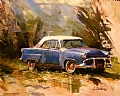 Old Ford by Dennis Dame Oil ~ 11 x 14