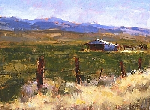 'The Old Barn' by Jennifer McChristian Oil ~ 14 x 18