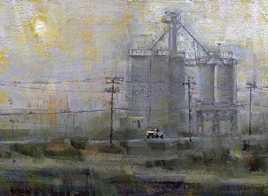 Dust Storm - Oil