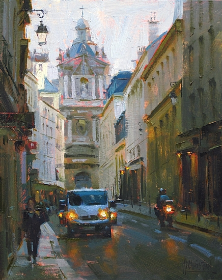 Rue Sevigne by Jennifer McChristian Oil ~ 10 x 8