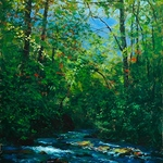 William Jameson - Summer on the Blue Ridge, Blowing Rock, NC