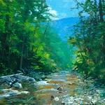 William Jameson - Spring on the Blue Ridge