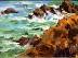Rocks and Sea by Susan Brott Lawson