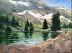 A Sierra Lake by Susan Brott Lawson