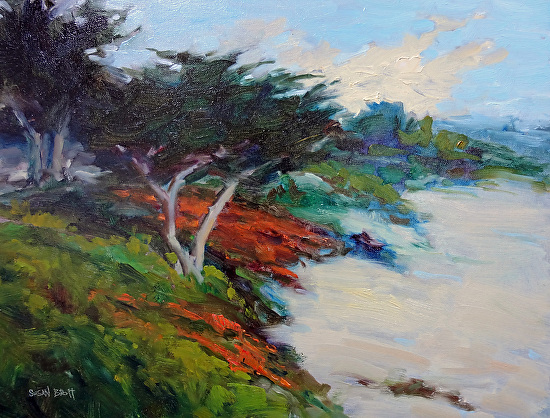 Carmel Beach - Oil