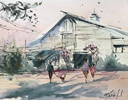 Carolyn Zbavitel - Watercolor Workshop-Perquimans County Rec Center