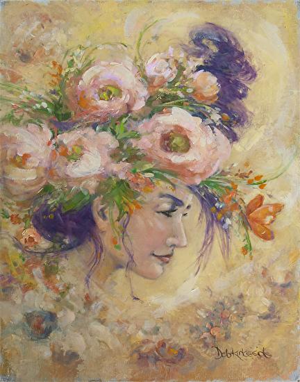 Floral Fantasy - Oil