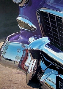 �Route 66� by Bob Petillo Giclee Reproduction ~ 31 x 21