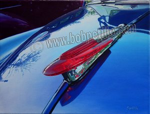 "hot rod ornament by Bob Petillo Giclee Reproduction ~ 16"" x 20"""