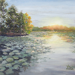 Vic Mastis - Reflections in Pastel