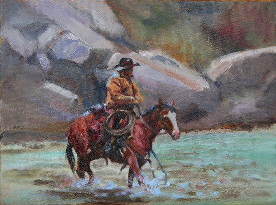 Third Crossing - Oil