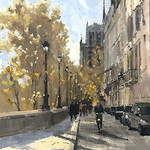 Philippe Gandiol - American Impressionist Society Annual National Show