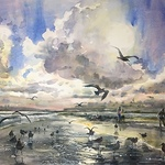 Catherine Hillis - WATERCOLOR WITHOUT BOUNDARIES in Key Largo, FL