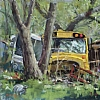 School's Out by Ray Hassard  ~ 12 x -