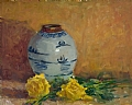 """Charma`s Vase"" by Abby Warman Oil ~ 16"" x 20"""