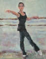 Young Dancer by Abby Warman Oil ~ - x -