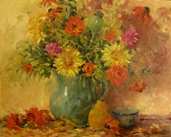 """Summer's Bounty"" by Abby Warman Oil ~ 24"" x 30"""
