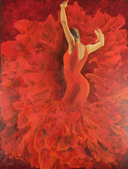 """Passion"" - Acrylic"