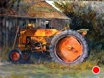 Old Allis by Gil Dellinger Acrylic ~ 36 x 48