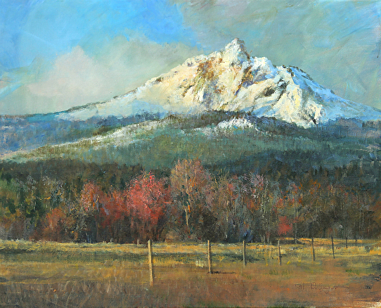 Mt Washington  Oregon Cascades - Acrylic