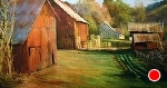 A Morning in the Country by Gil Dellinger Pastel ~ 24 x 48