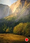 Yosemite Falls in Autumn by Gil Dellinger Acrylic ~ 84 x 60