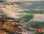 A Glorious Day Ahead by Gil Dellinger Pastel ~ 18 x 24
