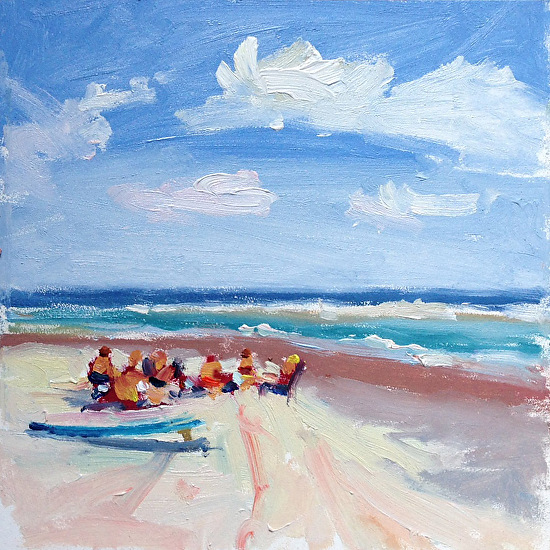 Beachin It - Oil