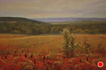 Sumac Over The Valley by Kami Mendlik Oil ~ 20 x 30