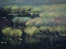 Tranquility by Kami Mendlik Oil ~ 18 x 24