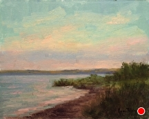 Jacksonport Sundown by Kami Mendlik Oil ~ 8 x 10