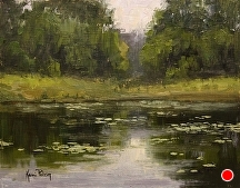 Sunday Serenity by Kami Mendlik Oil ~ 8 x 10