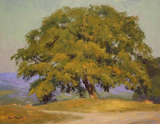 Lovely Tuscan Tree - Oil