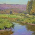 Kami Mendlik - Painting Color Relativity in the Landscape - Vermont