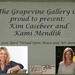 Kami Mendlik - The Grapevine Gallery Presents Kim Casebeer and Kami Mendlik