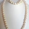 Large Baroque Pearls, Necklace and Bracelet Set