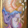 Pink Angel Icon