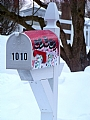 "2/17/2010 Mailbox  Snowmen by Alan Wood Photograph ~ 10"" x 8"""