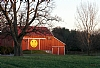 "Pennsylvania Happy Face Barn by Alan Wood Photograph ~ 13"" x 19"""