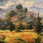 Micah Goguen - Palette Knife Landscape