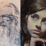 Cheryl Magellen - PORTRAIT DRAWING & PAINTING: Downtown, Las Vegas