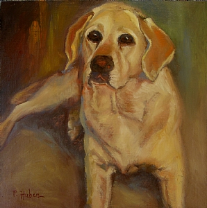 Bridger by Patricia Huber Oil ~ 12 x 12