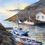 Lena Thynell - Painting Seascapes