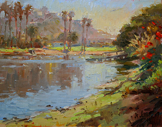"""Playa Lagoon"" - Oil"
