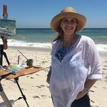 Jessica Henry Gray - Destin, Florida Plein Air Painting