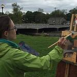maggie capettini - History of Plein Air Painting & Painting Demonstration