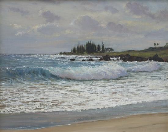 Hamoa Beach, Maui - Oil